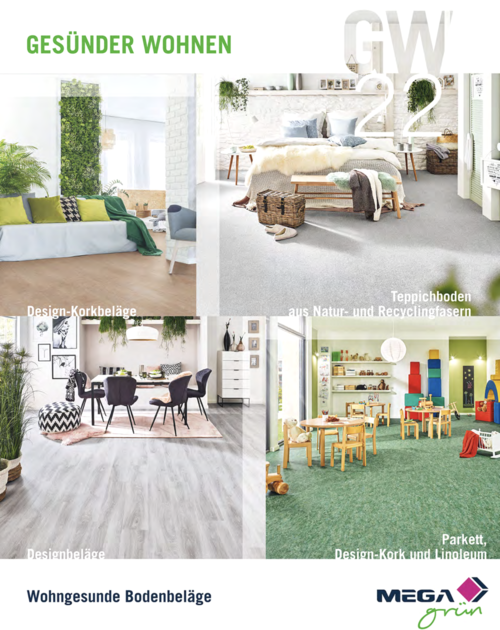 Gesundes Wohnen: Die neue MEGA-Bodenbelagskollektion sorgt für einen starken Auftritt