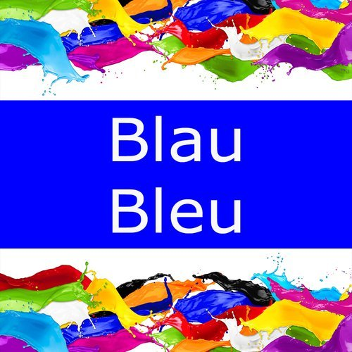 Mut zur Farbe: Blau