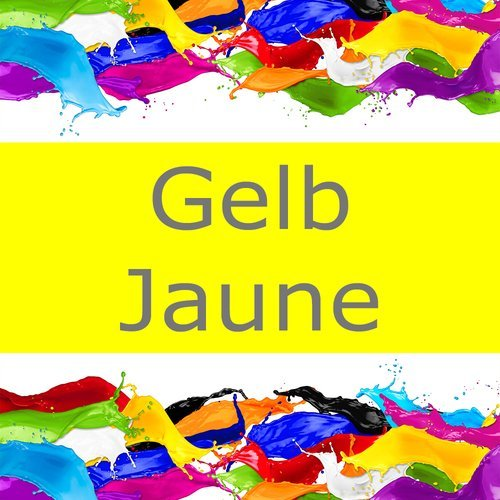 Mut zur Farbe: Gelb