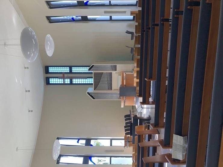 Malerarbeiten innen Kirche Falkensee