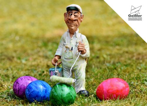 Erwischt!!! Und: Frohe Ostern